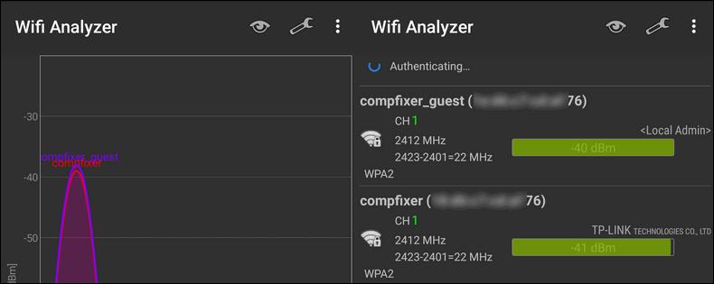 основаная и гостевая Wi-Fi сети роутера TP-Link