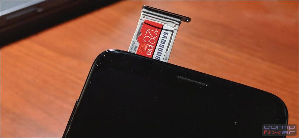SD карта памяти Galaxy S9