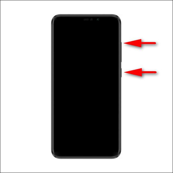 Xiaomi Redmi Note 6 recovery mode